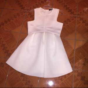 The Vintage Shop white fit and flare dress